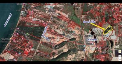 ที่ดิน 4000000 ชลบุรี สัตหีบ บางเสร่