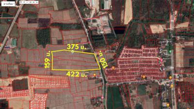 ที่ดิน 1200000 ราชบุรี เมืองราชบุรี เจดีย์หัก